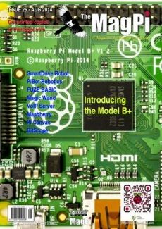 The MagPi Magazine Agosto 2014 ya disponible para su descarga - Raspberry Pi