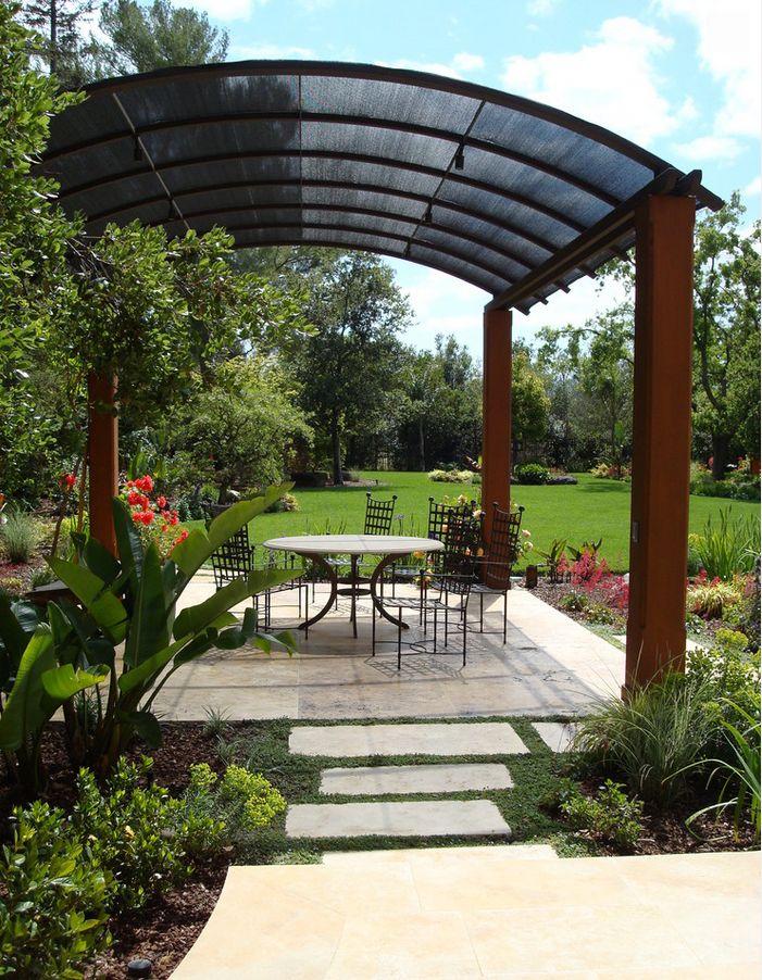 Mediterranean Patio Design in San Francisco