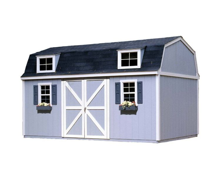 Berkley Storage Building Kit with Floor - (10 Ft. x 16 Ft.)