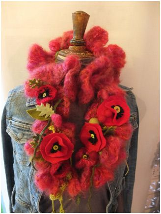 111 best fleurs feuilles tricot crochet flowers leaves modle de graldine alix my lovely poppies fr free fandeluxe Images