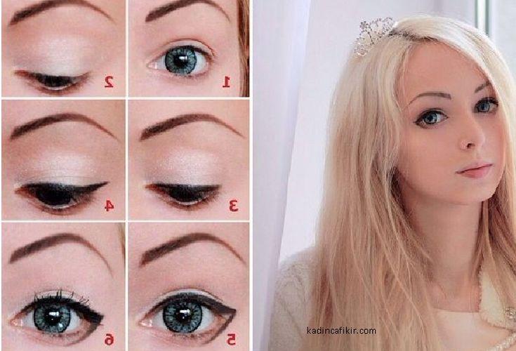 alina kovalevskaya barbie make up   Kadınca Fikir