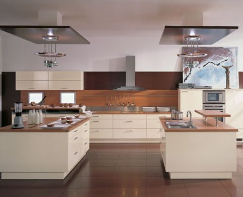 Love the dual island: Dreams Kitchens, Idea, Open Spaces, Kitchens Art, Kitchens Layout, White Cabinets, Kitchen Designs, Modern Kitchens Design, White Kitchens