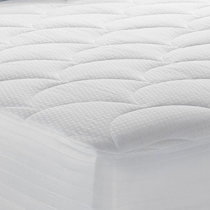Therapedic 500 Thread Count Mattress Pad In White Mattress Pad Mattress Cotton Mattress