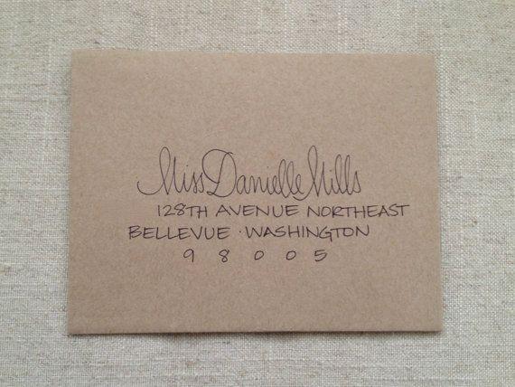 Hand Addressed Envelope