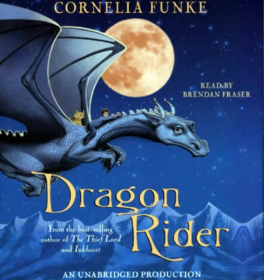 Dragon Rider by Cornelia Funke (awesome author)