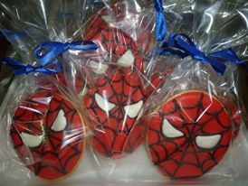 Galletitas Spiderman.