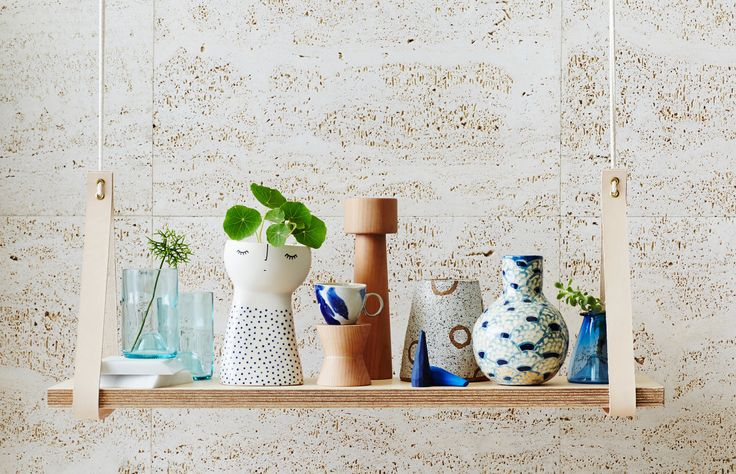 Adele Maggie Vase, second from the right - beautiful picture by The Design Files!