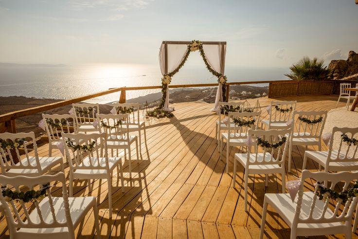#mykonoswedding #weddingplanner | M&A Mykonos Weddings | www.mamykonosweddings.com