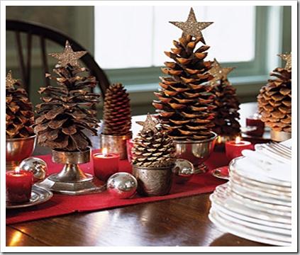 pinecone decor #love