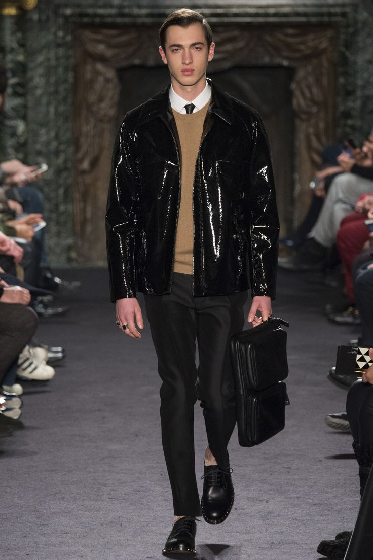 Metallic Styling for Men - Callan McAuliffe by David Slijper. For more fashion trend forecasting, check out Trendstop.com