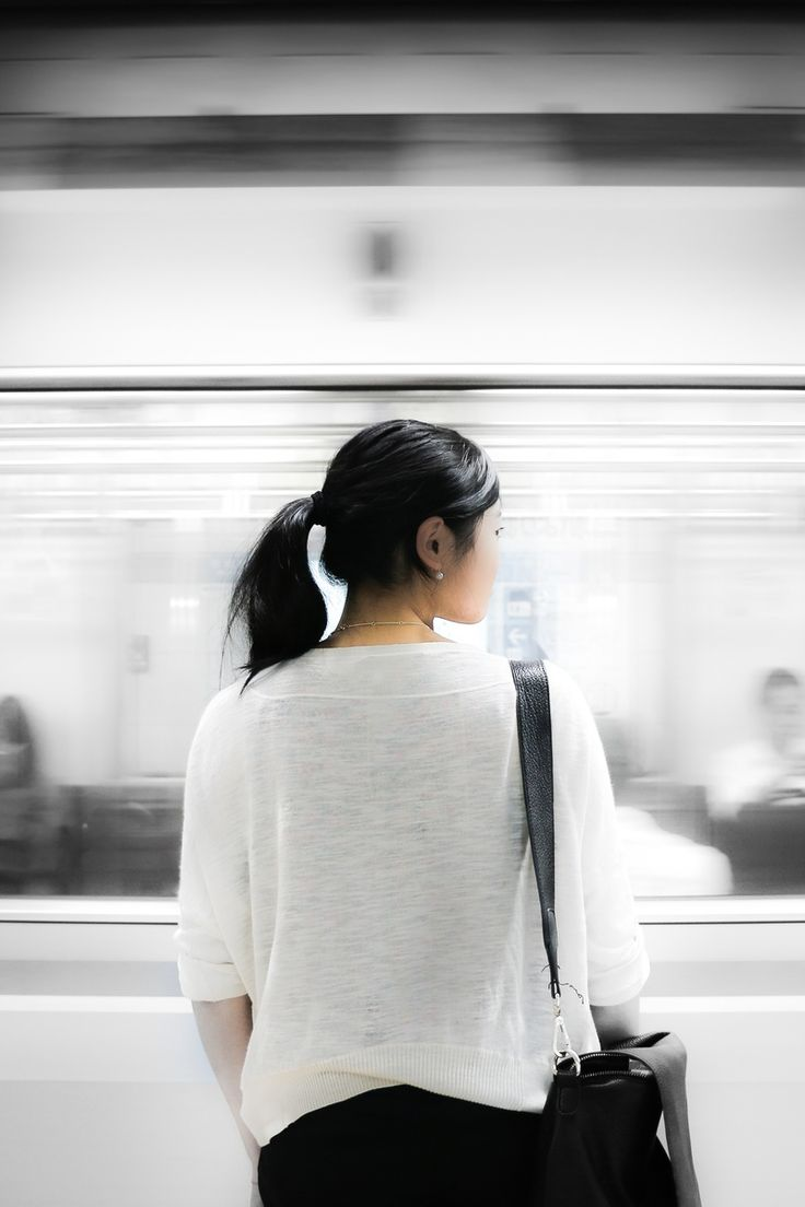 Free stock photo of person, woman, train, public transportation