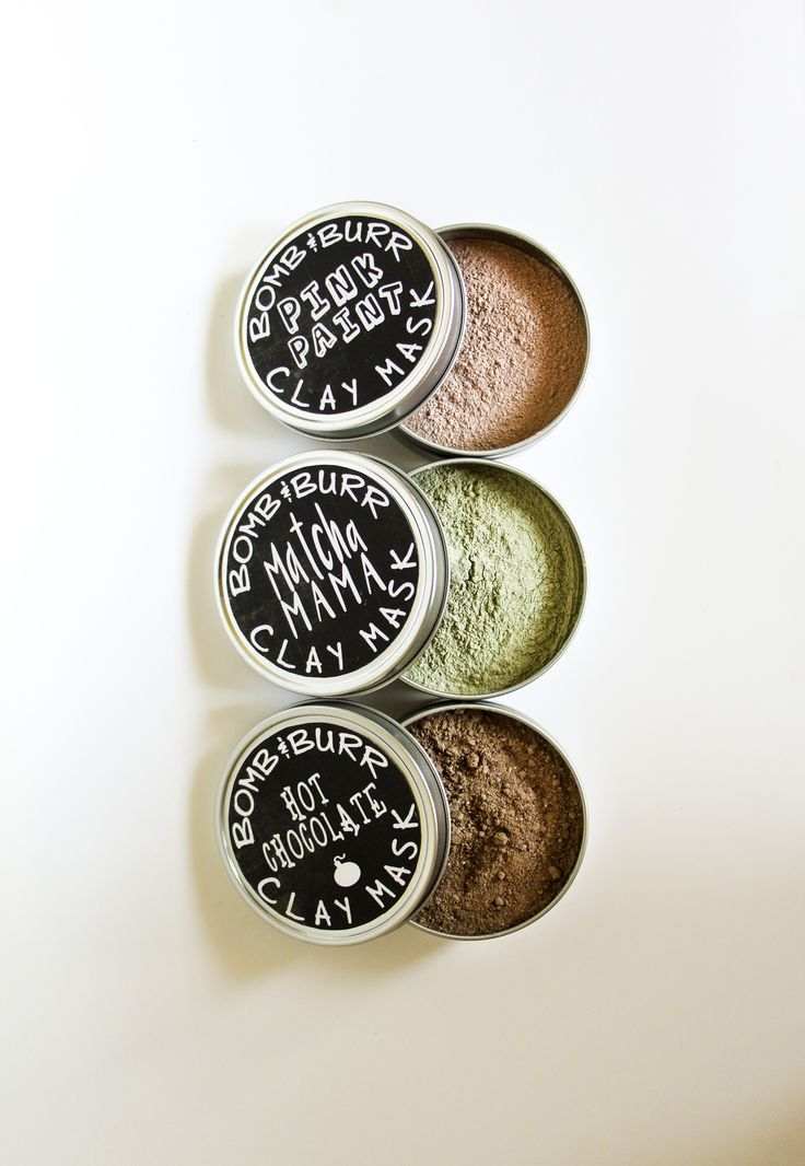 Gift Set of 3 Clay Masks - Bomb & Burr