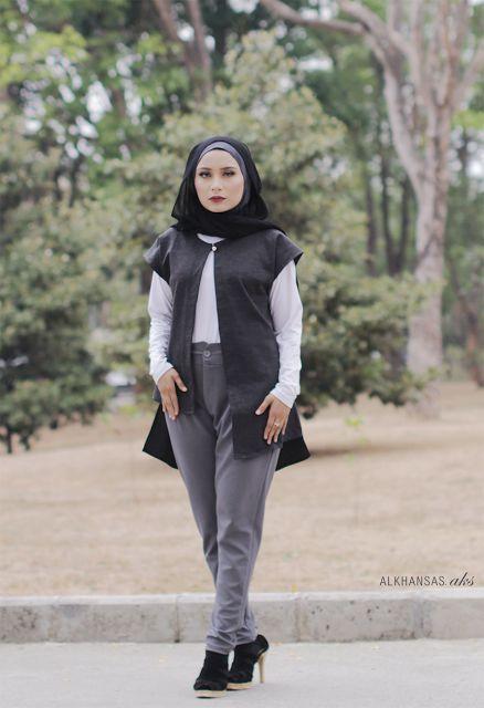 Casual Outerwear for Hijab #Hijab #Hijabi #HijabFashion #HijabStyle #HijabOutfit #HijabOOTD