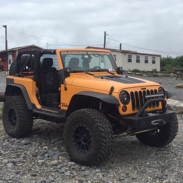 Car brand auctioned:Jeep Wrangler Custom 2012 Car model jeep wrangler jk 2 door