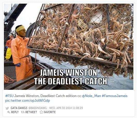 All in good fun: Folks 'cracking' jokes - the Jameis Winston crab leg saga on the web | jacksonville.com