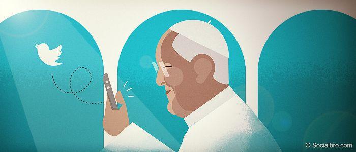 8 cosas que el Papa puede enseñarte sobre cómo usar Twitter