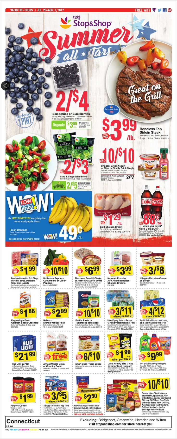 Stop and Shop Circular July 28 - August 3, 2017 - http://www.olcatalog.com/grocery/stop-and-shop-circular.html