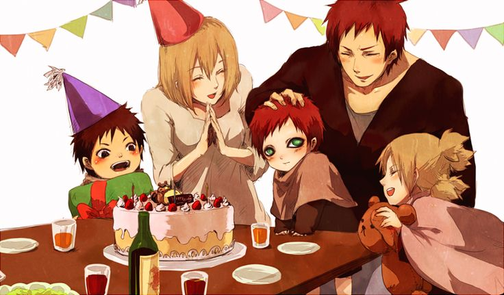 gaara and matsuri family - photo #30