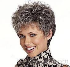 grijs kort haar - Google zoeken
