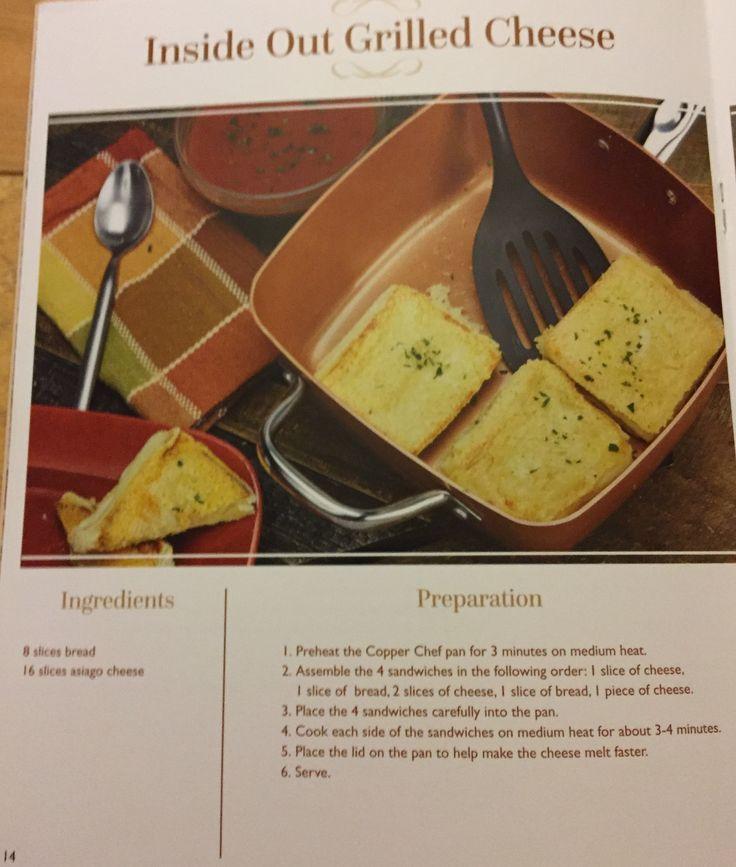 Mejores 22 Im 225 Genes De Copper Chef Recipes En Pinterest