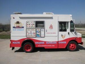 Texas Ice Cream Truck