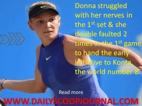 Donna Vekic Upsets Johanna Konta To Win Nottingham Open title