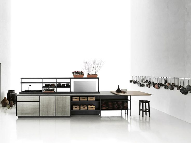 Freestanding Kitchens: Kitchen Salinas [A] by Boffi - Kitchens