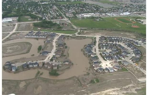 RCMP just released these amazing aerials of High River taken Saturday