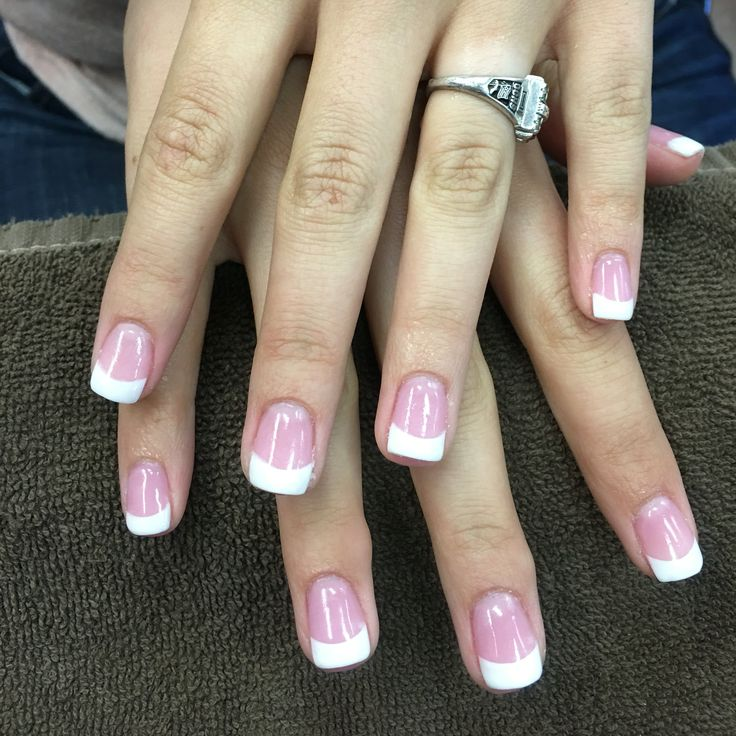 French Nexgen dipping powder nails | More beautiful and creative ...