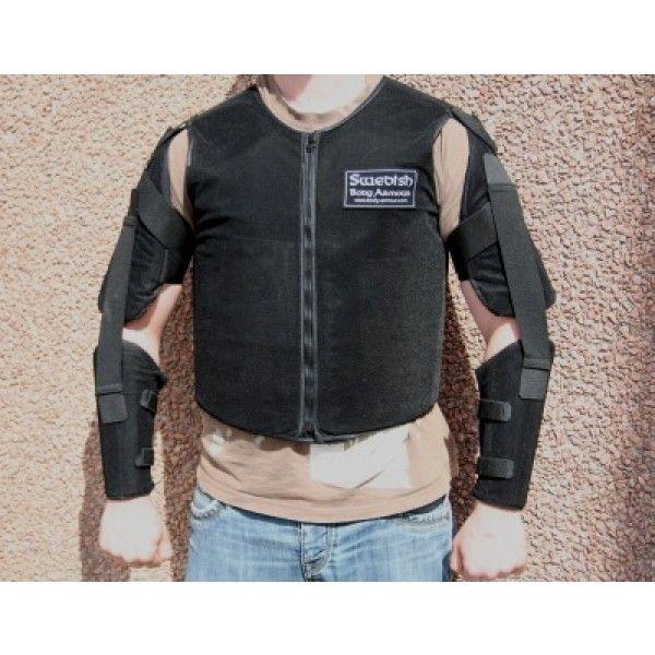 SpyShop Skuddsikkert skjelett - IIA - Skuddsikker/knivsikker bekledning - Vekterutstyr / Personlig sikkerhet - Alt innen overvåking og sikkerhet