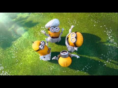 Minions Song - I Swear - Despicable me 2  - cried of laughter so bad during the last scene! so funny! this movie is actually a must see!