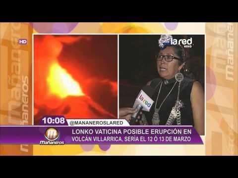 Lonko mapuche vaticina erupción del volcán Villarrica