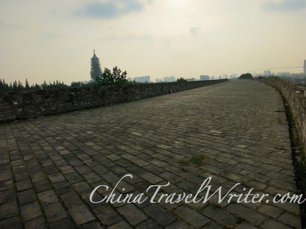 The Nanjing Ming Dynasty city wall