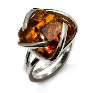 COOL baltic amber ring