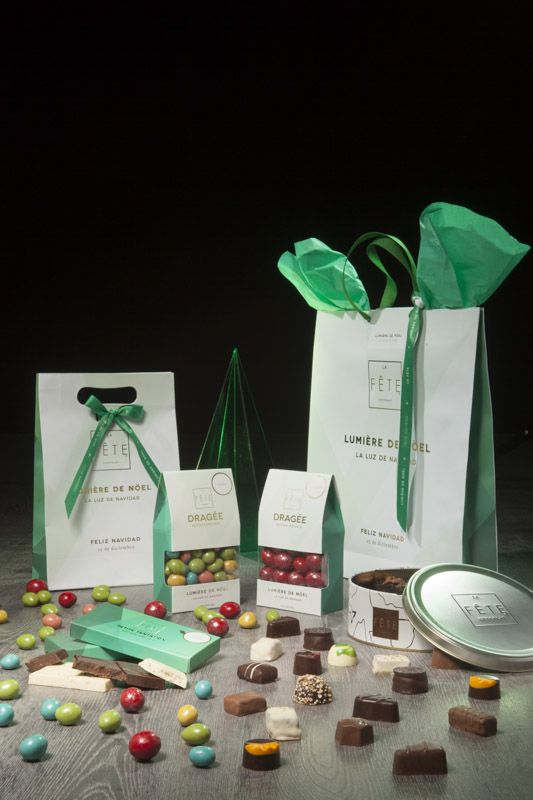 The beautiful Christmas Light collection from La Fête Chocolat. #lafetechocolat