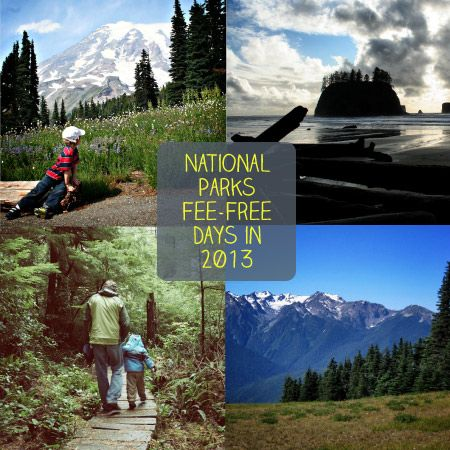 Free Admission Days for National Parks in 2013