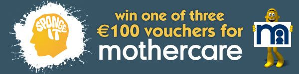 Win €100 Mothercare vouchers. Participate in the survey to be in to win.
