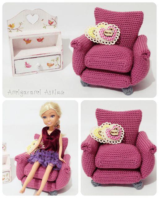 #amigurumikoltuk #amigurumiarmchair #armchair #crochet #crochettoys