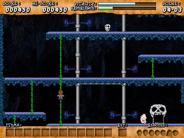 Download and play The Goonies: 20th Anniversary Edition: a free, open source platform game developed by Brain Games. The Goonies: 20th Anniversary Edition is available for Windows, Linux, Mac OSX.