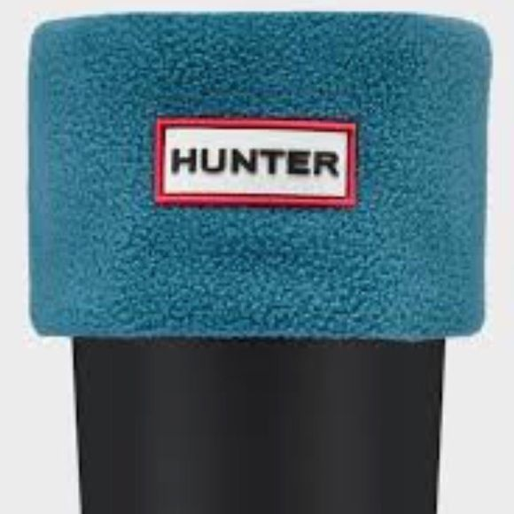 "Hunter Fleece Original Tall Welly Socks - Blue Hunter fleece original tall Welly boot sock size Medium, dusty blue.  Exact color is ""dusty patrol"".  Women's US size 5 -7 and Euro size 36 - 38. Brand new in box, never used.  Purchased from Nordstrom! Hunter Boots Other"