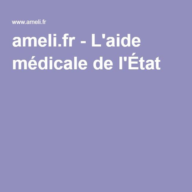 ameli.fr-L'aide médicale de l'État