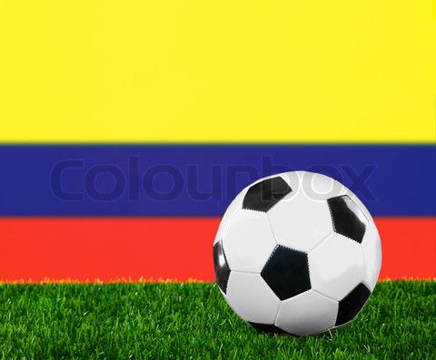 Image of 'The Colombian flag' on Colourbox