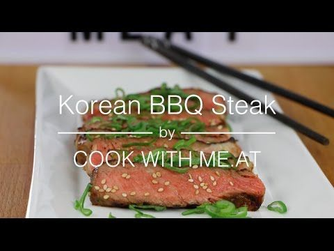 Grill like a boss when you cook this Korean-style BBQ steak