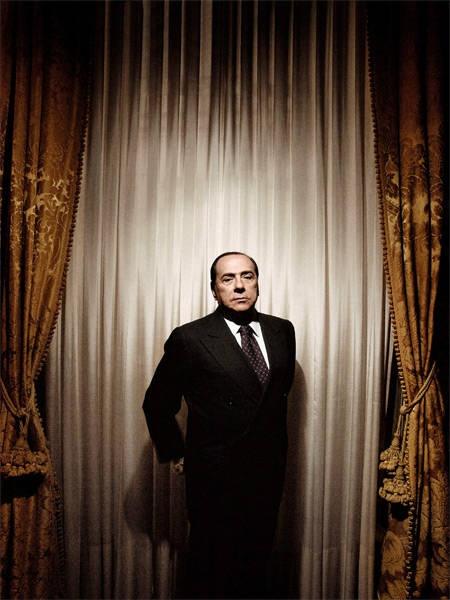 """Alex Majoli ITALY Rome 2008. Silvio BERLUSCONI in his house, """"Palazzo Grazioli."""""""