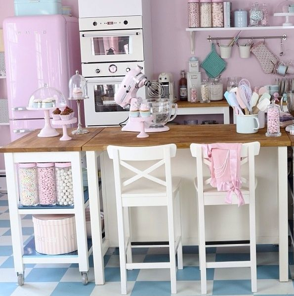 17 Best Images About Retro Kitchens On Pinterest