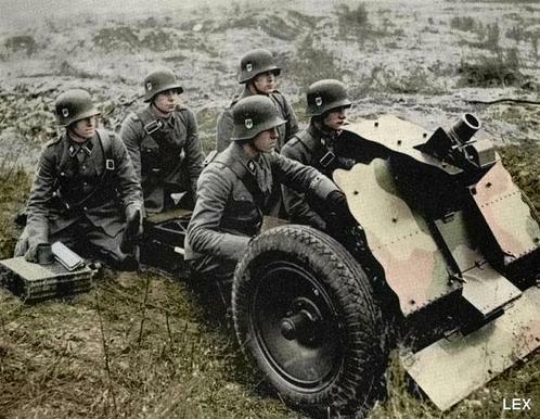 Image result for German for 7.5cm Leichtes Infantry support gun