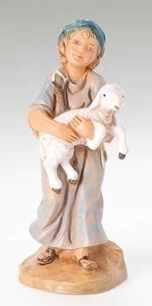 "Fontanini Nativity 5"" SILAS Shepherd (57521)"