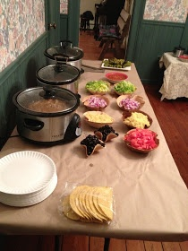The Simple Things: Creating A Taco Bar