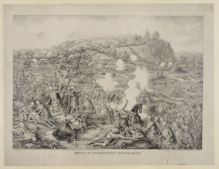 Battle of Magersfontein  - This Day in History: Oct 11, 1899: Boer War begins in South Africa  - It was a war of greed. An already rich and powerful nation wanted more and was willing to sacrifice anything to get it.