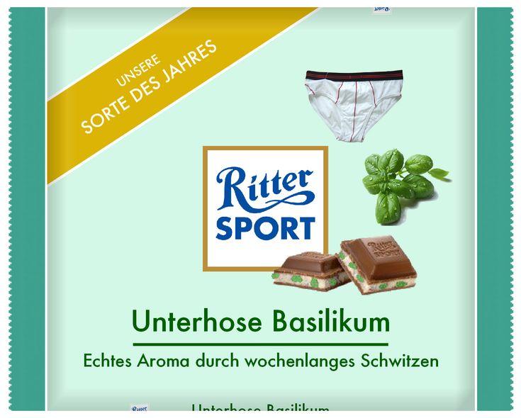 Ritter Sport - Unterhose Basilikum